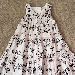 Little Girls Sleeveless Dress Organic Cotton